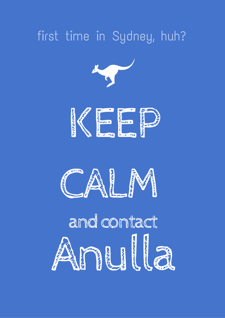 Keep Calm Anulla