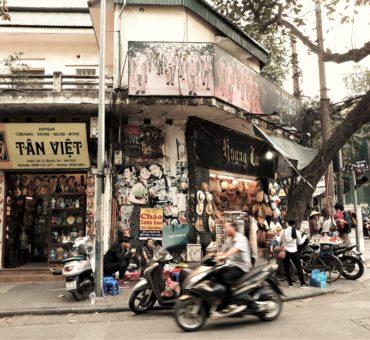 Hanoi. Stare miasto.
