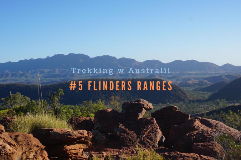 Trekking w Australii: Flinders Ranges