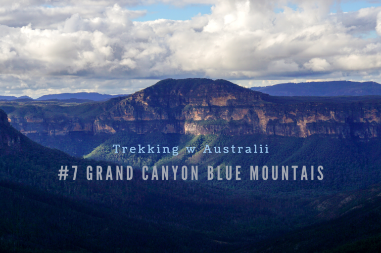 Trekking w Australii: Grand Canyon w Górach Błękitnych