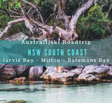 Australijski roadtrip: z Jarvis Bay do Batemans Bay.