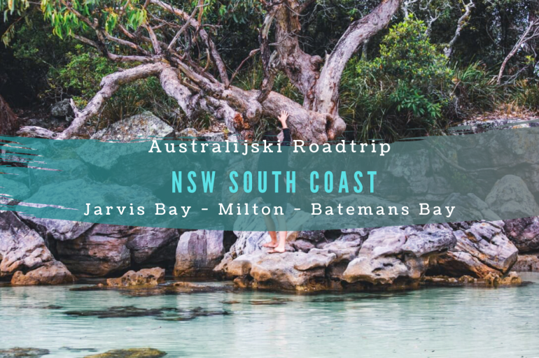 Australijski roadtrip: z Jarvis Bay do Batemans Bay.